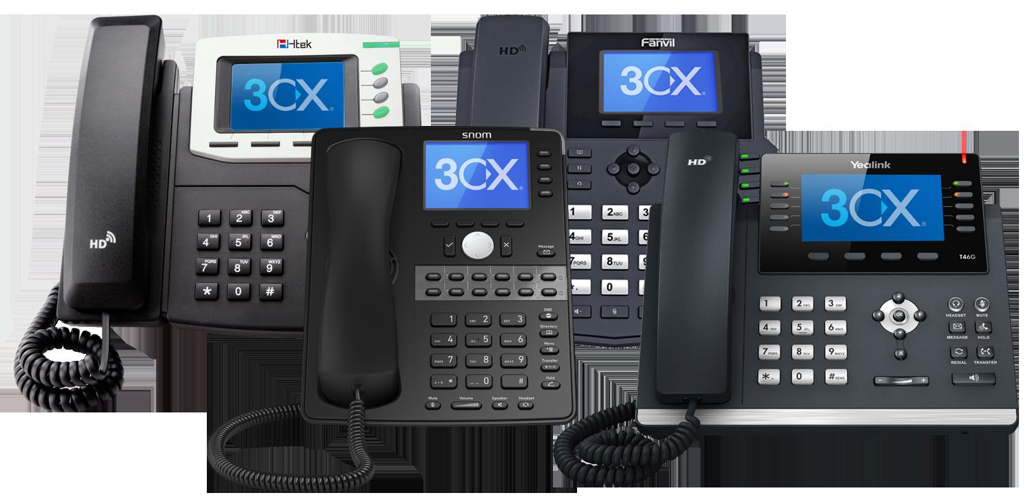Découvreznotre solution de téléphonie fixe 3CX